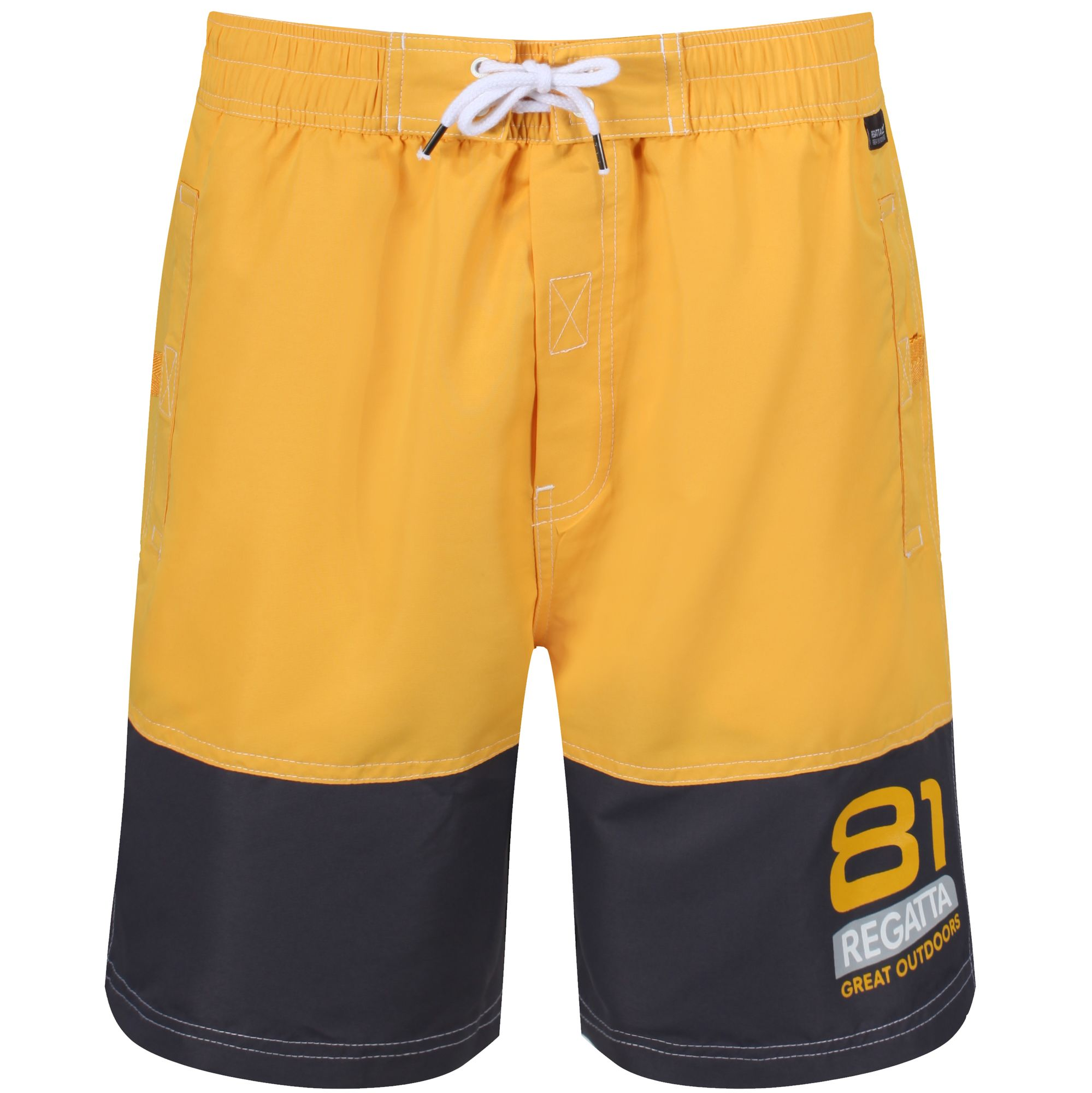 e12538b665 Regatta BRACHTMAR II SWIM SHORTS - Old Gold / Iron